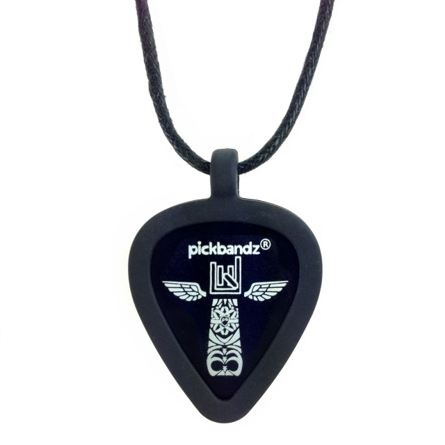your rock custom or pick necklace on pickbandz necklaces picks just guitar cool in pop holder and